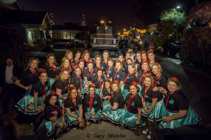 Parading with the Goddesses of the Krewe of Nxy